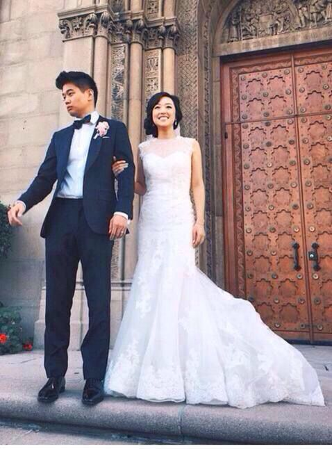 ki hong lee is now officially married the bride is
