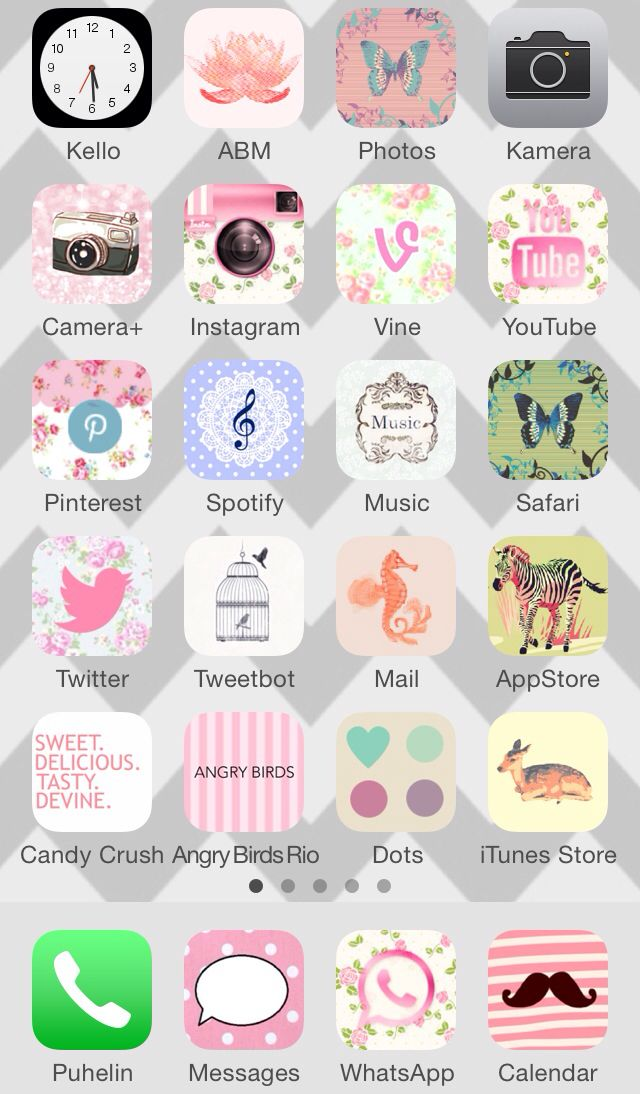 Icons and wallpaper by CocoPPa app | Iphone icon, Iphone ...