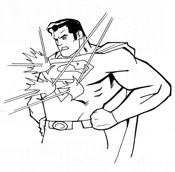 Superman Coloring Pages And Sheets Find Your Favorite Cartoon Picures In The Library