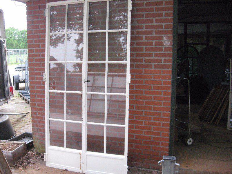 Stalen Deuren Tweedehands : Prachtige authentieke stalen deuren div afmetingen uit villa