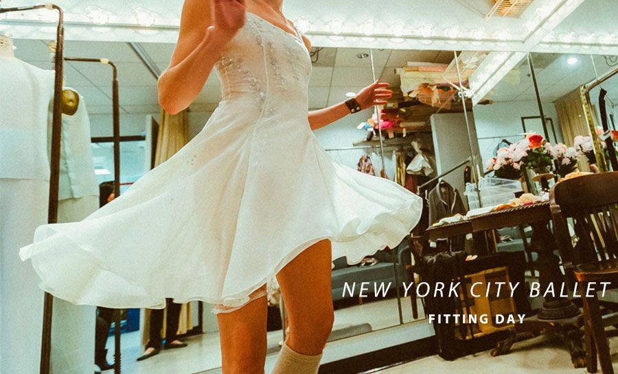 NYC Ballet - Fitting Day #balletfitness