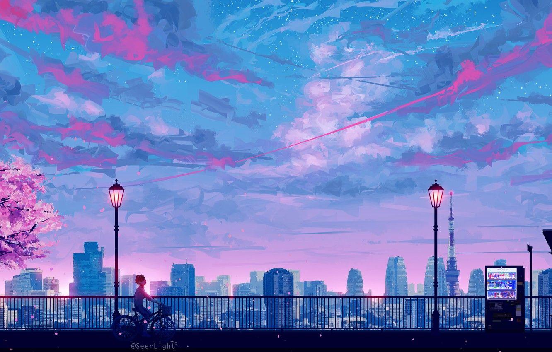 Japan Wallpaperhd Hd Japanhd Wallpaper 1080 2160 City Life Enjoy Nilon Red Blue In 2020 Scenery Wallpaper Cityscape Wallpaper Aesthetic Desktop Wallpaper