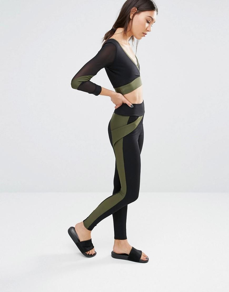 Quontum | Quontum Side Stripe Legging at ASOS