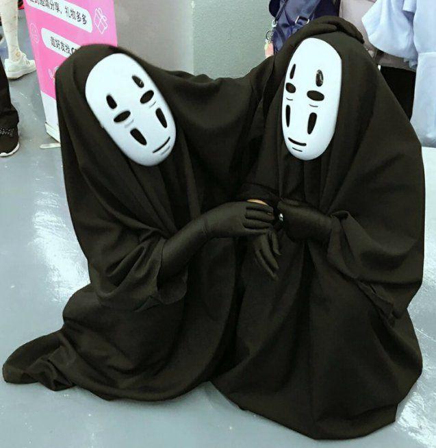 Anime+Spirited+Away+No-Face+Kaonashi+Cosplay+Costume ...