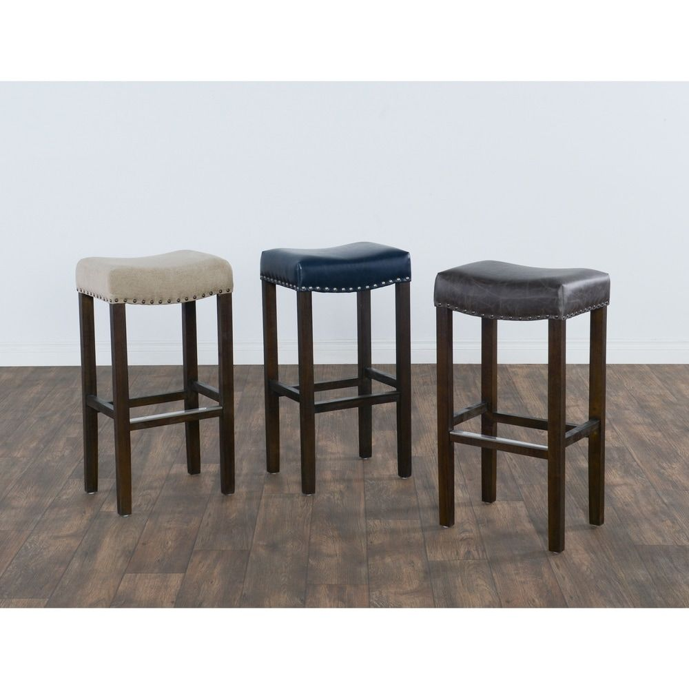 Kai 31 Inch Backless Barstool By Kosas Home With Images Backless Bar Stools Bar Stools Kosas Home