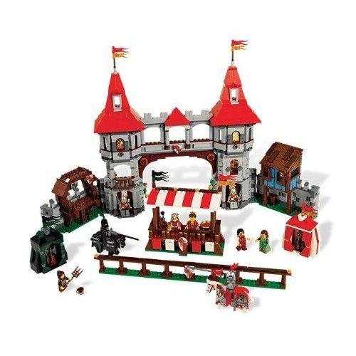 toys medieval | LEGO Castle Medieval Market Village (10193): Toys ...