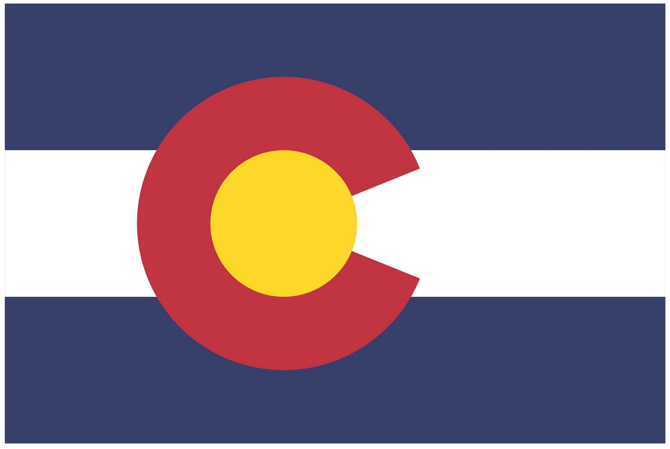 Colorado State Flag Seal Eps Files Colorado State Flag State Flags Flag