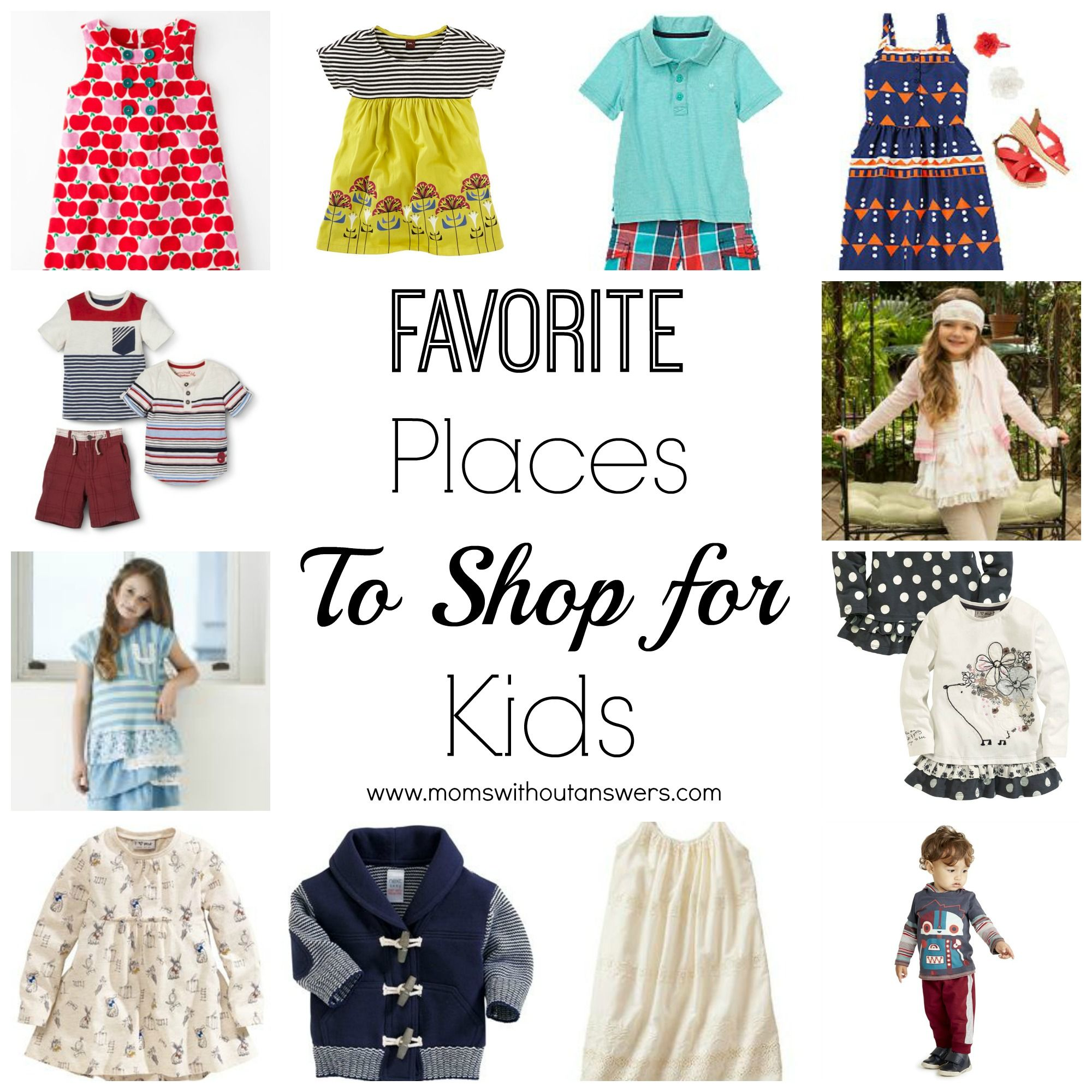 MWOA Favorites Shopping for Kids