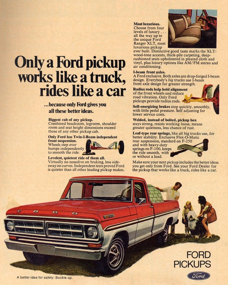 Ford pickup Works Like a Truck, Rides Like a Car # Travel Rides ...
