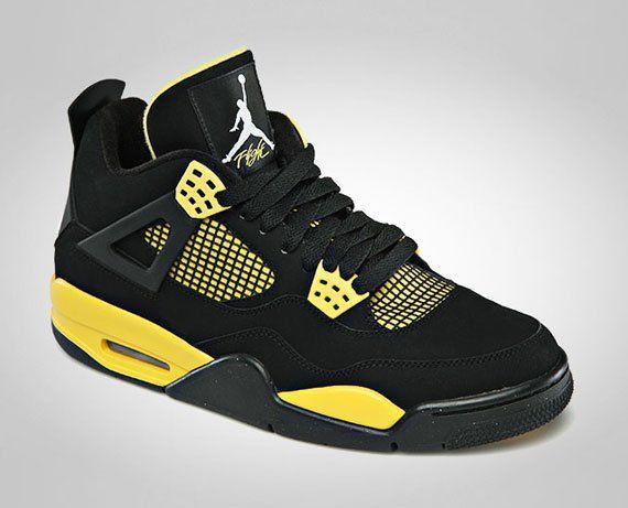 Air Jordan Iv Retro Thunder Release Info Air Jordans Retro Air Jordans Sneakers