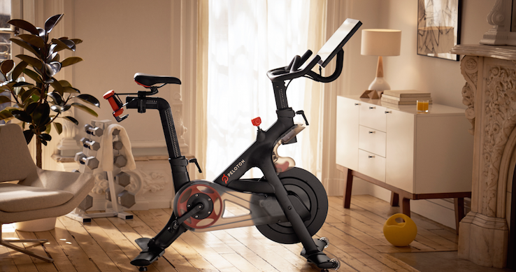 Can You Watch Tv On Peloton Peloton Is Now A Unicorn Because Of The Spinning Class Craze Best Exercise Bike Biking Workout Post Partum Workout