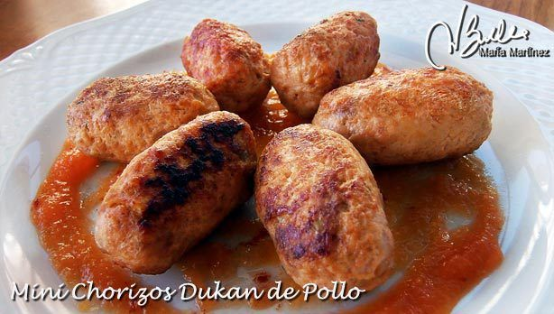 Chorizos Dukan de Pollo, aptos desde Ataque
