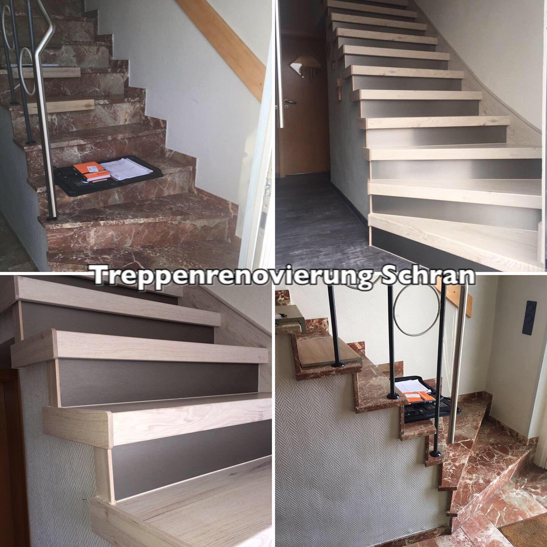 aus offener treppe geschlossene treppe machen