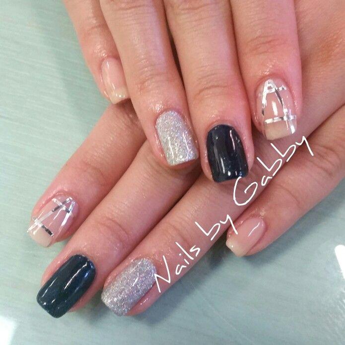 Gel nails, shellac, glitter, natural nails.   Nails by Gabby ...