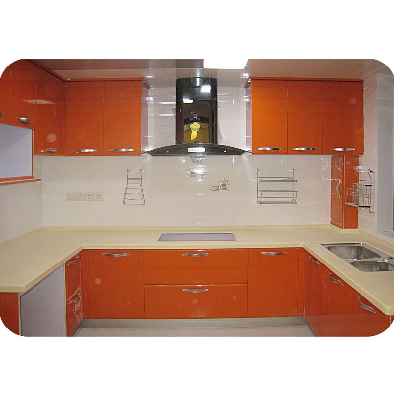 Contemporary Kitchen Cabinet Door Material Melamine Board