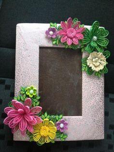 paper quilling art also frame flower rh ar pinterest