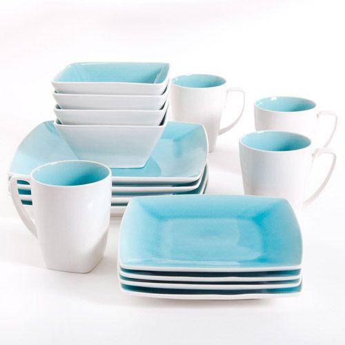 White and tiffany blue dinnerware set & White and tiffany blue dinnerware set | DINNERWARE | Pinterest ...