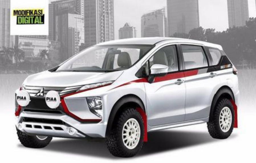 Modifikasi Mitsubishi Expander Off Road Mobil Daihatsu Toyota