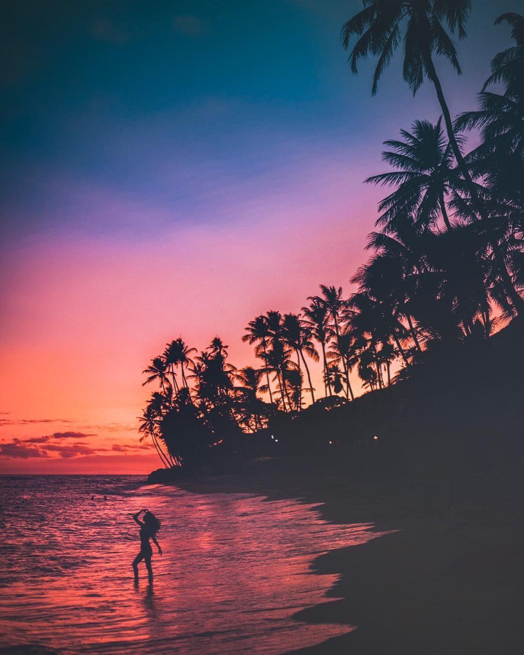 Nolan Omura Nolanomura Amazing Hawaii Photography Sunset Silhouette Sunset Silhouette Landscape Silhouette Nature Photography