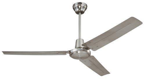 New Industrial Garage Shop 56 Blade Warehouse Shop Garage Ceiling Fan 2dayship Ceiling Fan Industrial Ceiling Fan Brushed Nickel Ceiling Fan