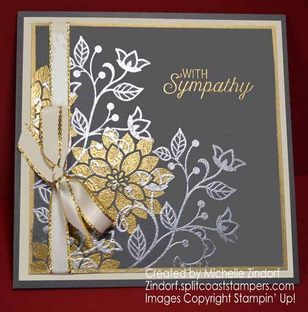 Elegant Floral Sympathy – Stampin' Up! Card