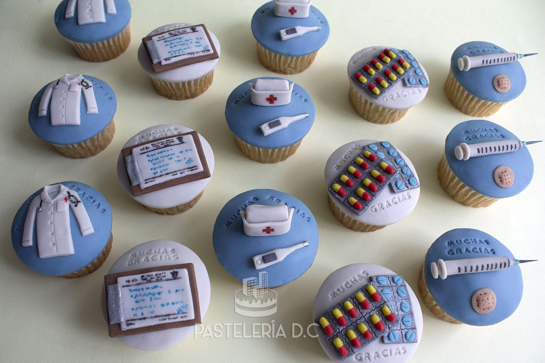 Photo of Cupcakes personalizados para profesionales de la salud (6 médicos y 9…