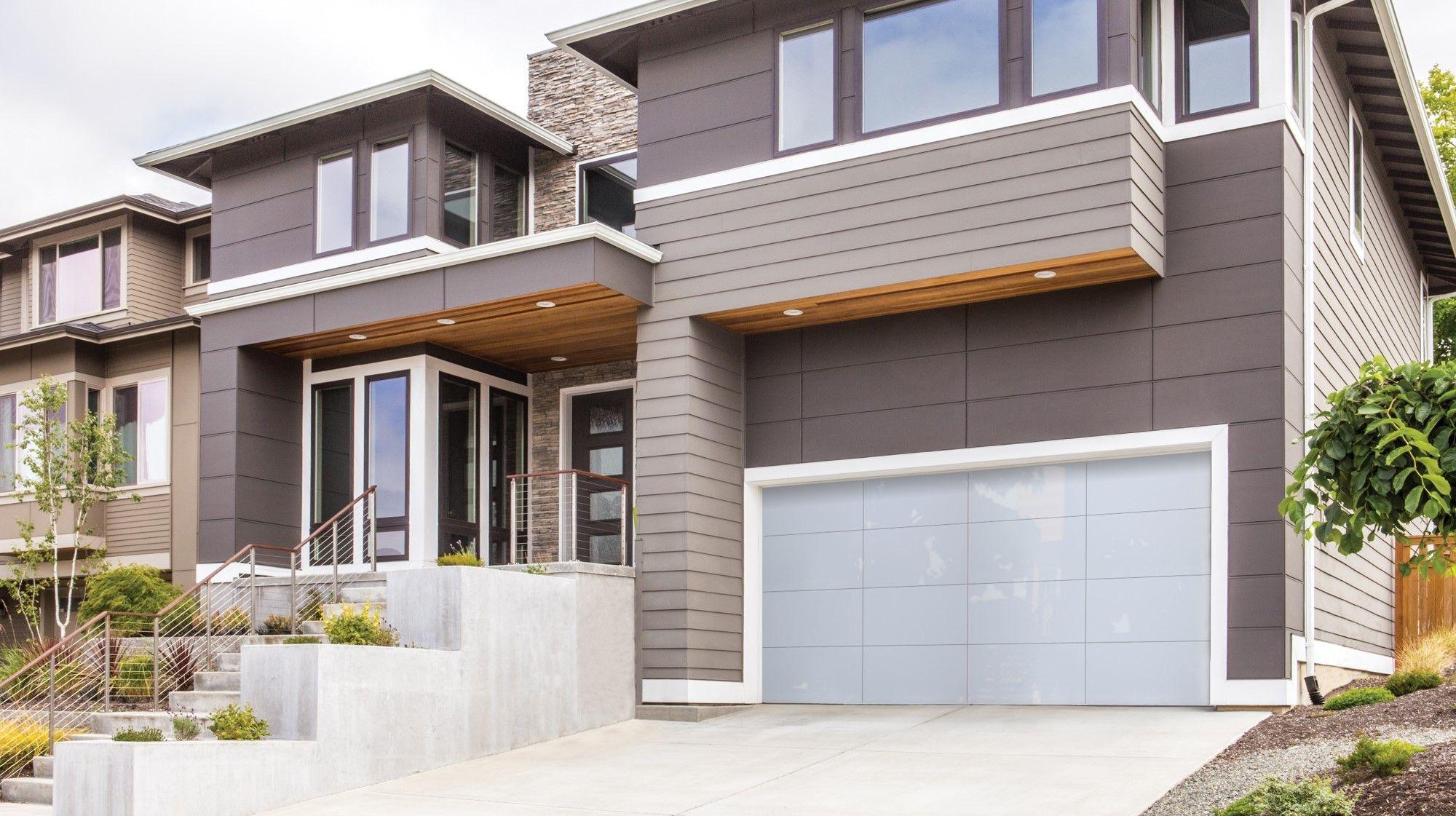 All Glass Modern Garage Door Luminous Garage Doors Glass Garage Door Wayne Dalton Garage Doors