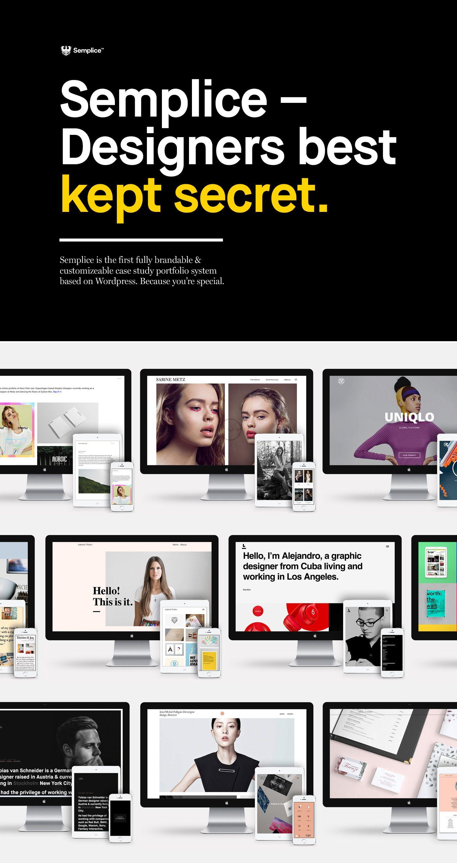 Semplice - Website on Behance