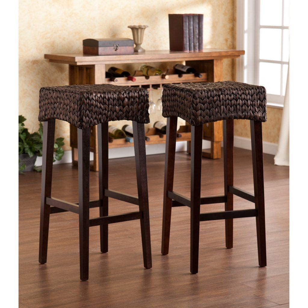 Beautiful Seagrass Counter Height Stools