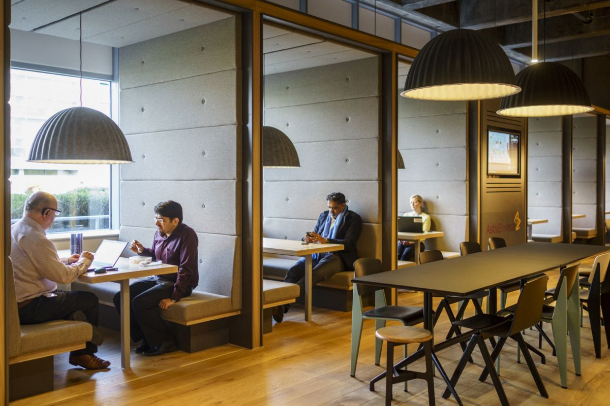 Office Tour Astrazeneca Offices Macclesfield Office Design Corporate Interiors Innovative Office