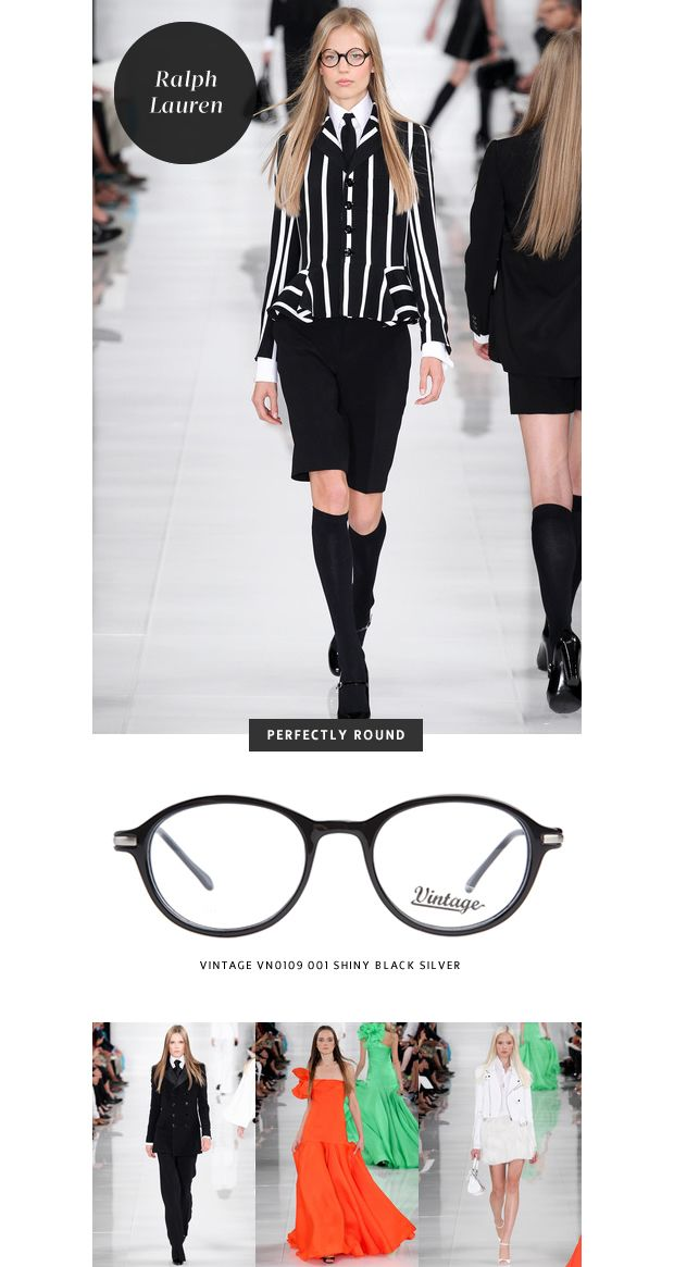 ad7e72bc1382 Top 6 Glasses Trends  New York Fashion Week - theLOOK