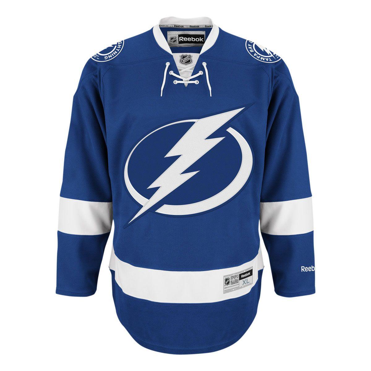 6069bd425 ... discount tampa bay lightning reebok premier replica home nhl hockey  jersey icejerseys official fan shop 124.50