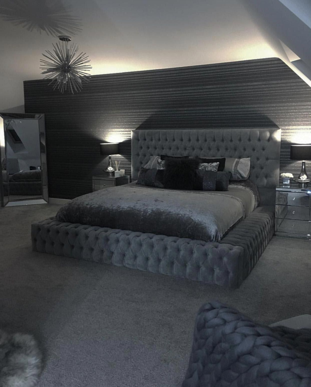 Excellent Grey White Bedroom Decorating Ideas Tips For 2019 Bedroomsideas Luxurious Bedrooms Luxury Bedroom Master Cozy Master Bedroom