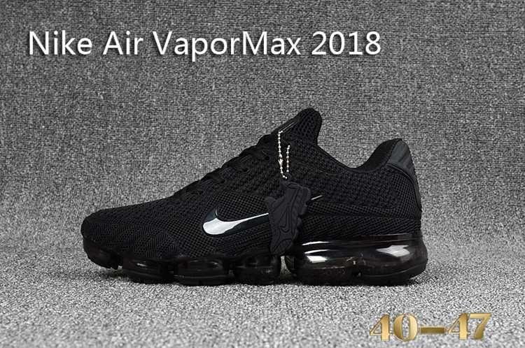 best sneakers bb8fe bf6ef Nike 2018 Nike air Vapor MAX 2018 KPU Running Men All Black 40-47