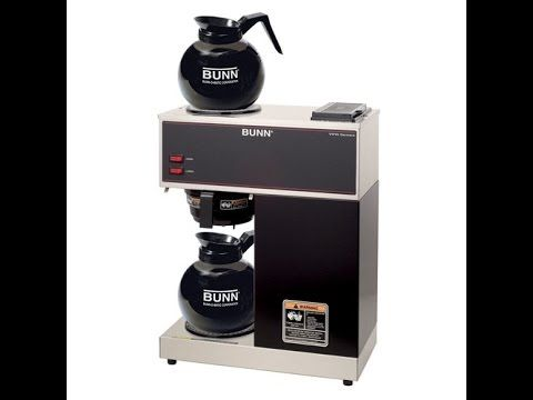 Bunn Vpr Commercial 12 Cup Pour Over Coffee Brewer Review Great Coffee Maker I Had One Commercial Coffee Makers Bunn Coffee Maker Pour Over Coffee Maker