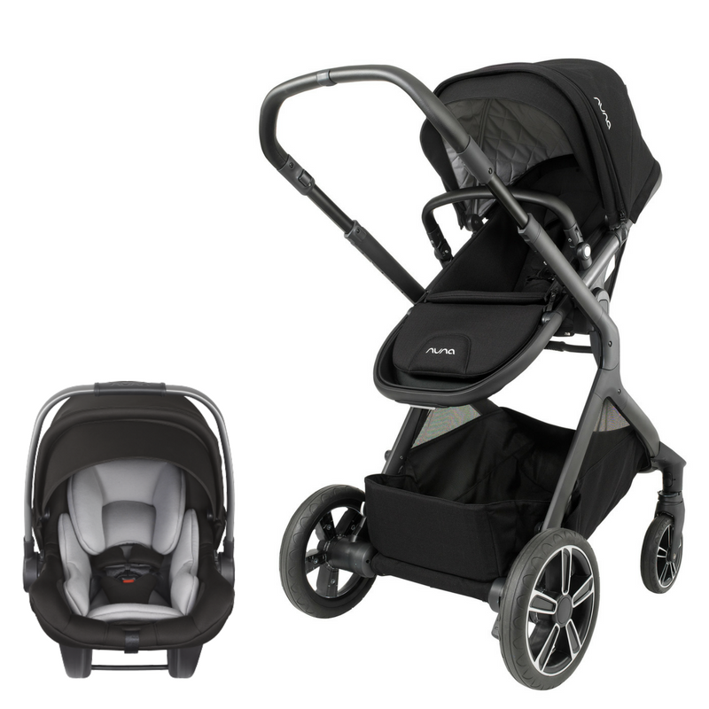 Nuna Demi Grow Stroller And Pipa Lite Lx Infant Car Seat Travel