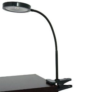 Clip on Flexible Lamp from Lightaccents | Black lamps, Black