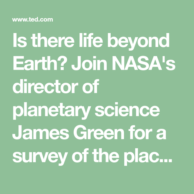 Is there life beyond Earth? Join NASA's director of ...