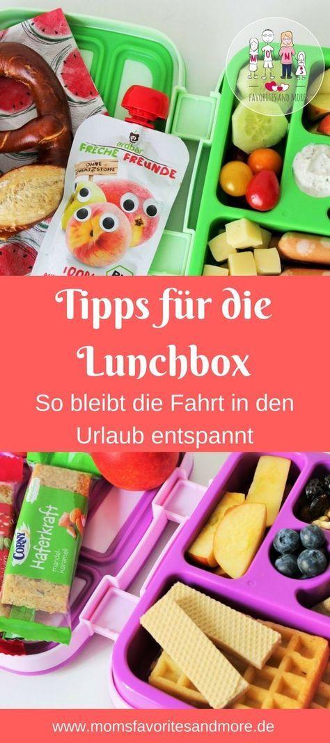 tipps f r die lunchbox so bleibt die fahrt in den urlaub entspannt und zugleich lecker. Black Bedroom Furniture Sets. Home Design Ideas
