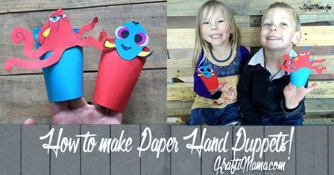 How to make paper hand puppets #handpuppets How to make paper hand puppets / #Hand #Paper #paperhandpuppets #puppets #handpuppets