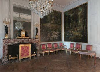 Exposition louis xv deux salles de l 39 appartement des for Salle de bain louis xv