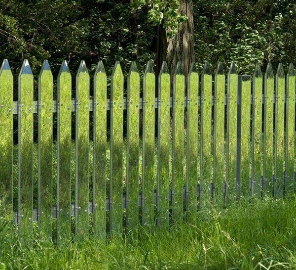 Design Spiegel Zaun Garten Zaun So Great Zaun Lustig Und Witzig