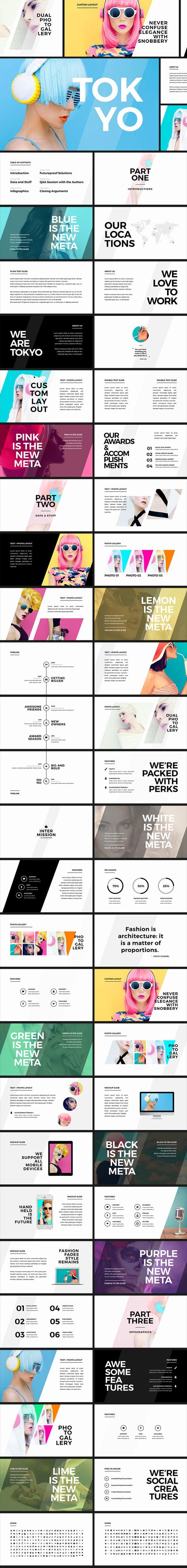 Tokyo Creative PowerPoint Template