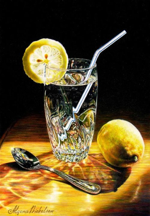 Colored Pencil Still Life ~ Art by Alyona Nickelsen ...