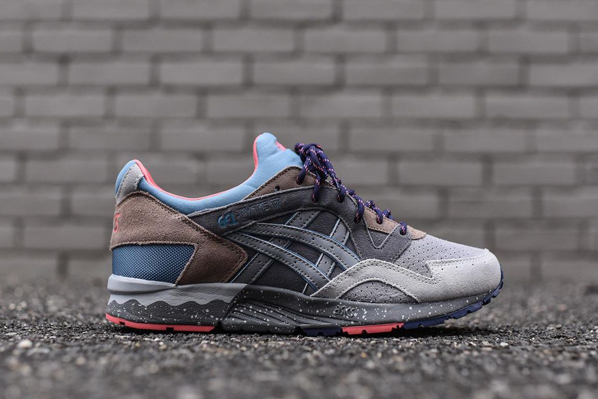 premium selection ef0d7 6fb6d Asics Gel Lyte V Takes on a Mountain Sports Colorway - EU Kicks Sneaker  Magazine
