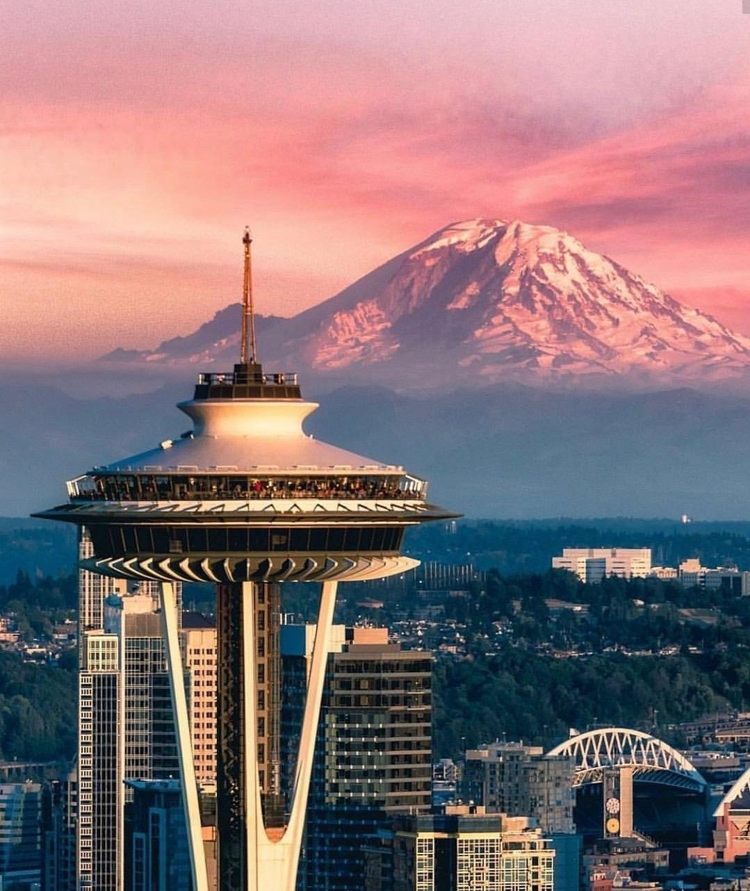 Seattle Must See Spaceneedle In Washington The Most Beautiful