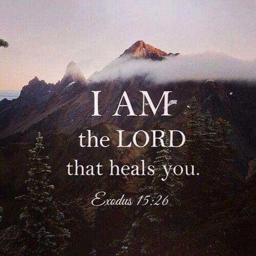 Posts Tagged 'I am the Lord that healeth thee'