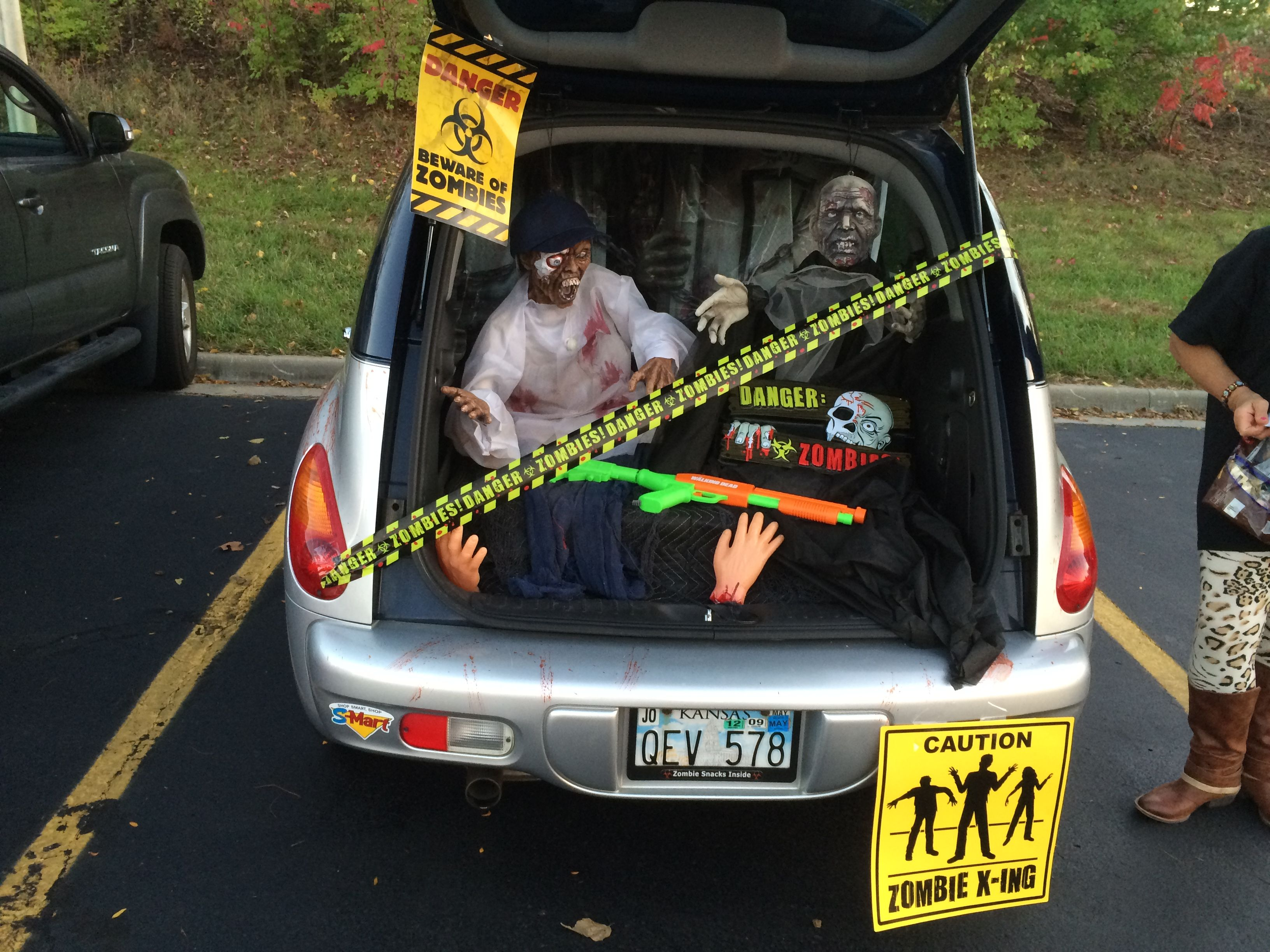 Halloween Trunk Or Treat 2014 Car Received Best Of Show