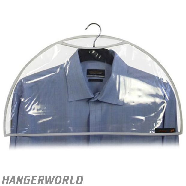 Shoulder Covers In Clear Peva Small Garment Cover Protective