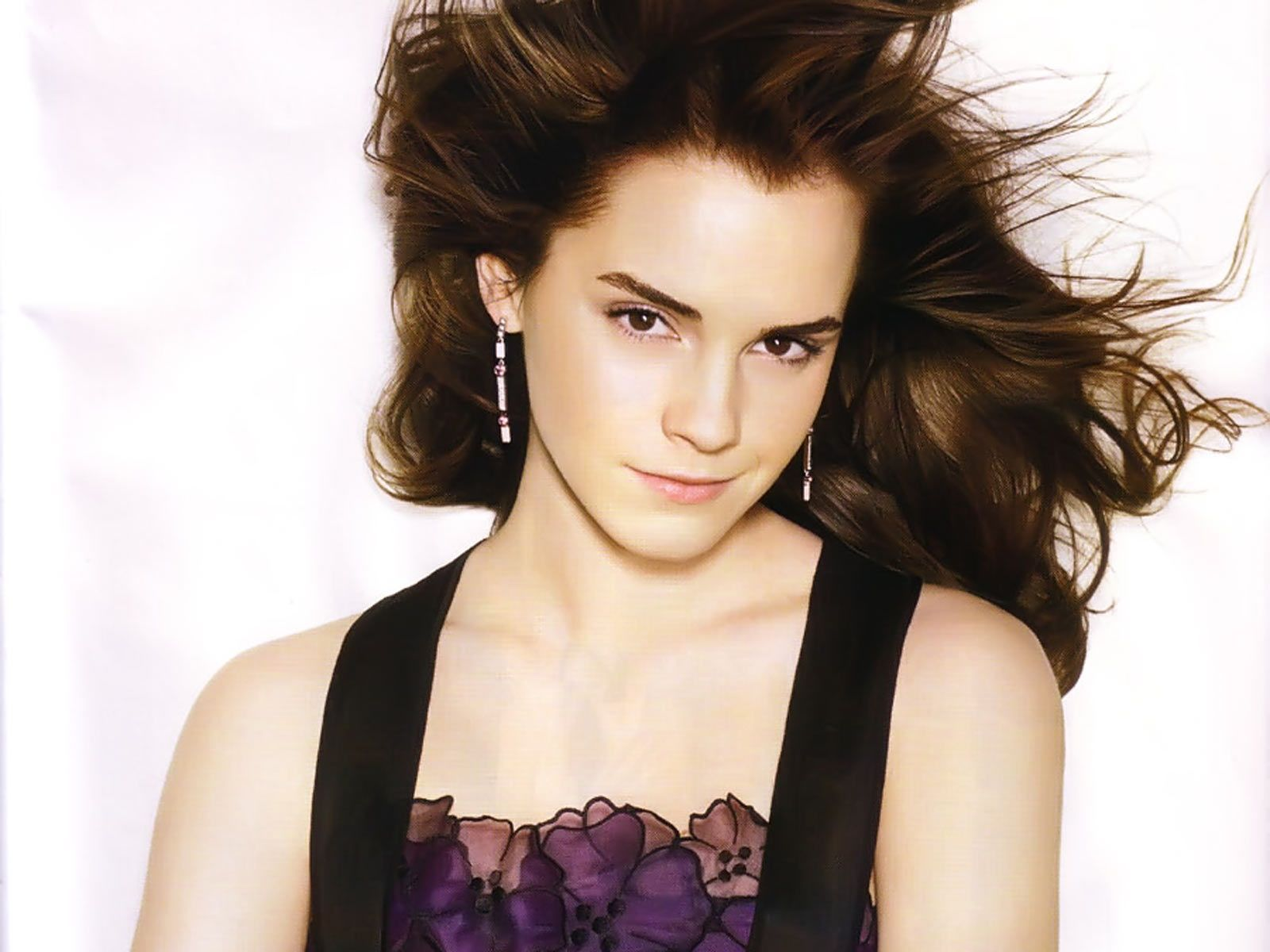 Emma Watson Beautiful x All For Desktop 3D Wallpapers